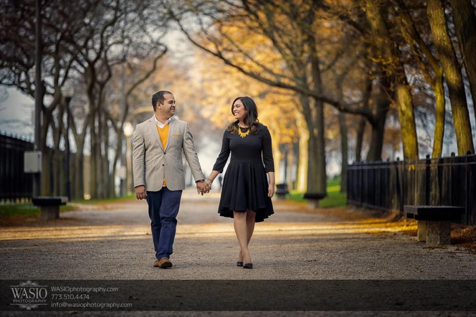 Indian-wedding-engagement-session-hand-holding-park-walking-fall-colors-nature_68-931x620 Indian wedding engagement session - Vasvi + Joey