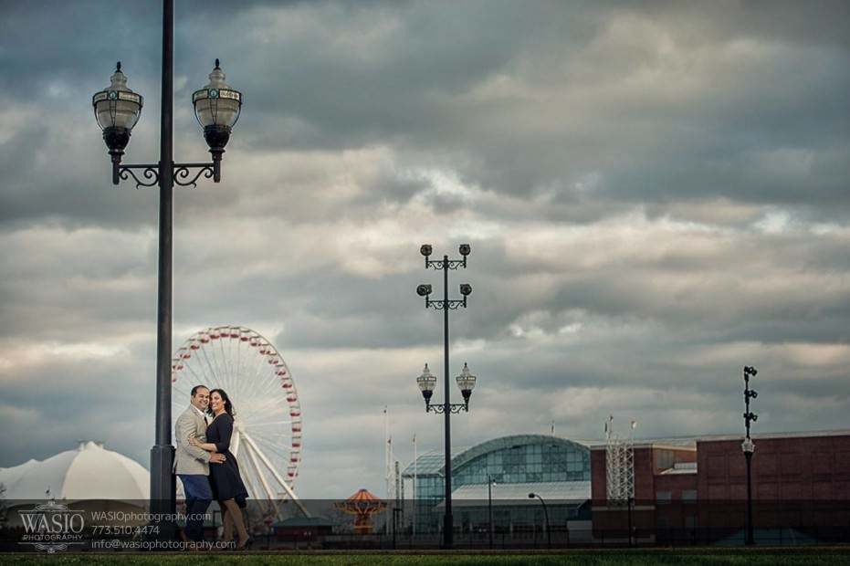 Indian-wedding-engagement-session-intimate-peaceful-navy-pier_73-931x620 Indian wedding engagement session - Vasvi + Joey