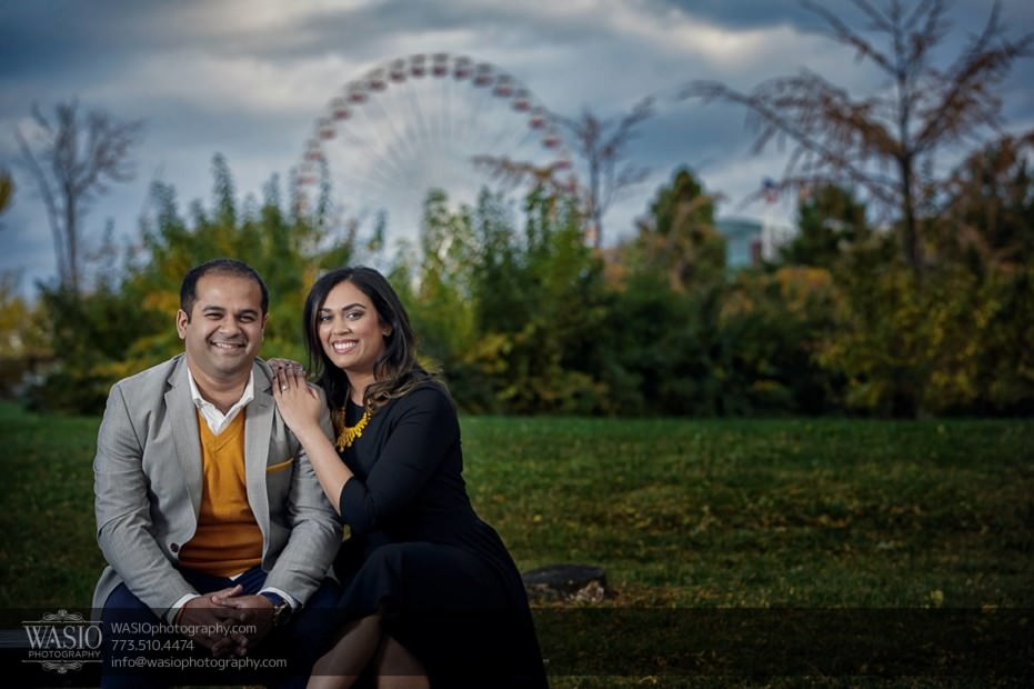 Indian-wedding-engagement-session-navy-pier-ferris-wheel_71-931x620 Indian wedding engagement session - Vasvi + Joey