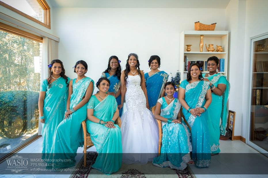 Indian-wedding-photograpy-bridal-party-fun-sea-green-soiree-012-931x620 Chicago Indian Wedding  - Cheryl + Brian