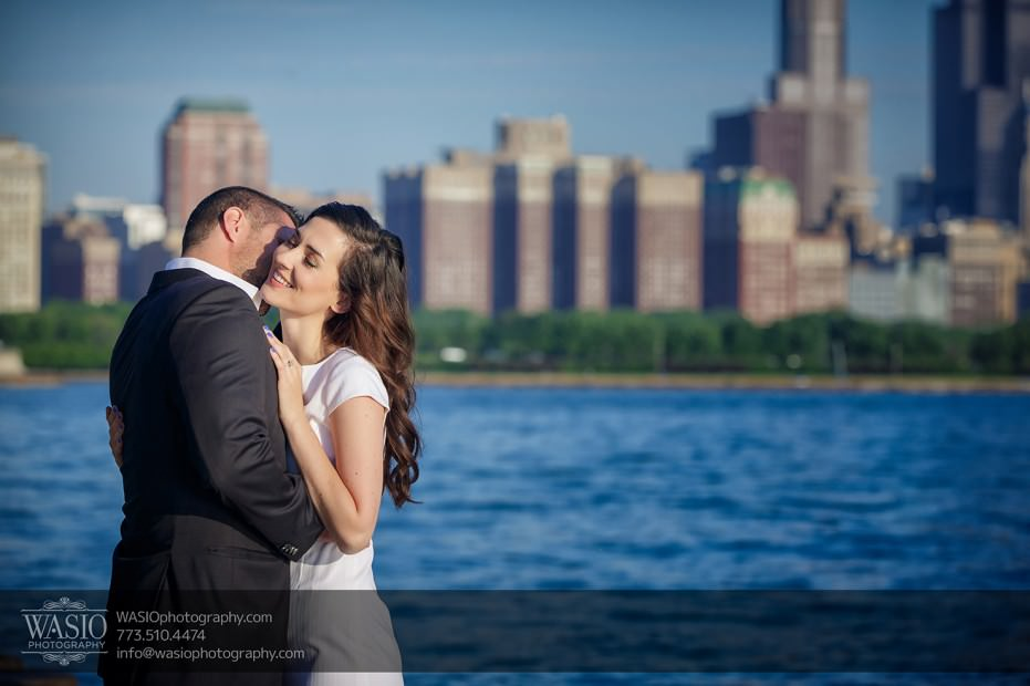 KS-ENG-2014-_Q7A7742-Edit-931x620 Chicago skyline sunrise engagement - Katherine + Stephen
