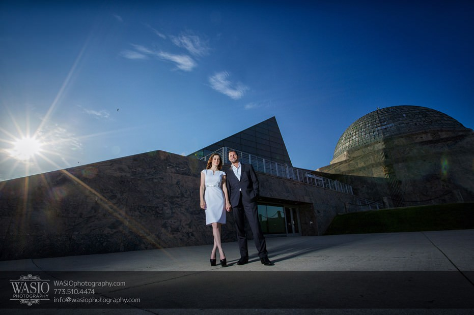 KS-ENG-2014-_Q7A7795-Edit-931x620 Chicago skyline sunrise engagement - Katherine + Stephen