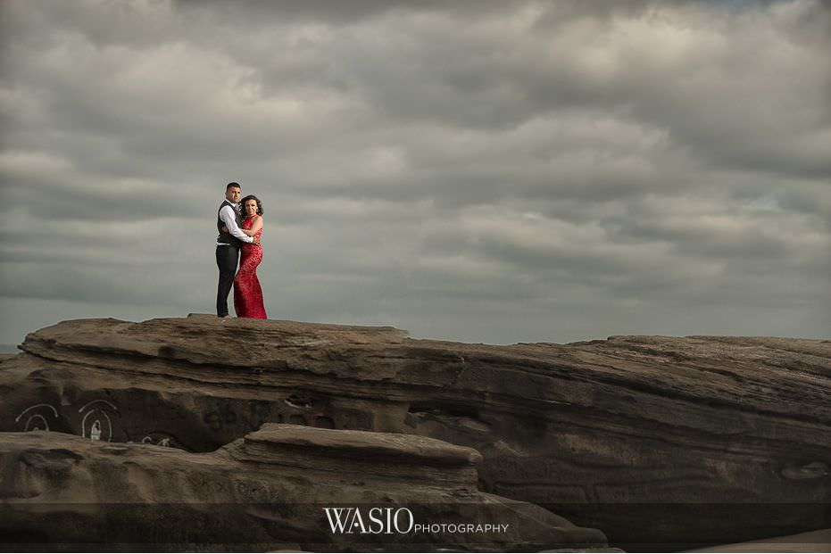 La-Jolla-Engagement-photos-dramatic-cliff-windsea-beach-blog-5 La Jolla Engagement Photos - Rosie and Christian