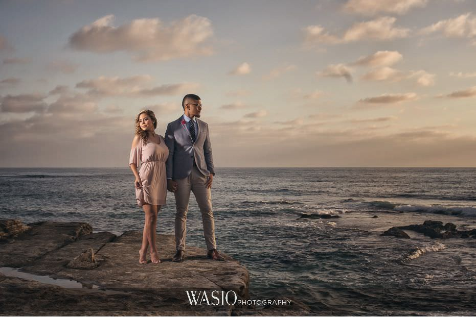 La-Jolla-Sunset-Engagement-Photos-scenic-view-love-blog-4 La Jolla Sunset Engagement Photos - Samara and Liki