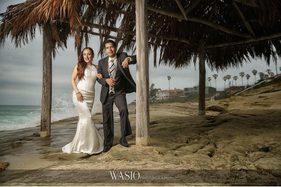La-Jolla-and-Gaslamp-Quarter-Wedding-Photos-bride-groom-portrait-white-wedding-dress-42 La Jolla and Gaslamp Quarter Wedding Photos - Bell & Frankie