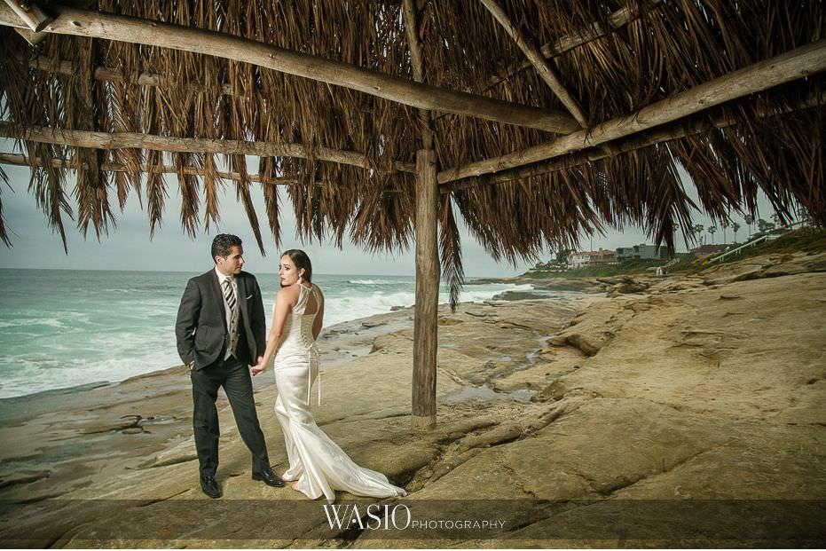 La-Jolla-and-Gaslamp-Quarter-Wedding-Photos-landscape-scenic-windand-sea-beach-portrait-43 La Jolla and Gaslamp Quarter Wedding Photos - Bell & Frankie