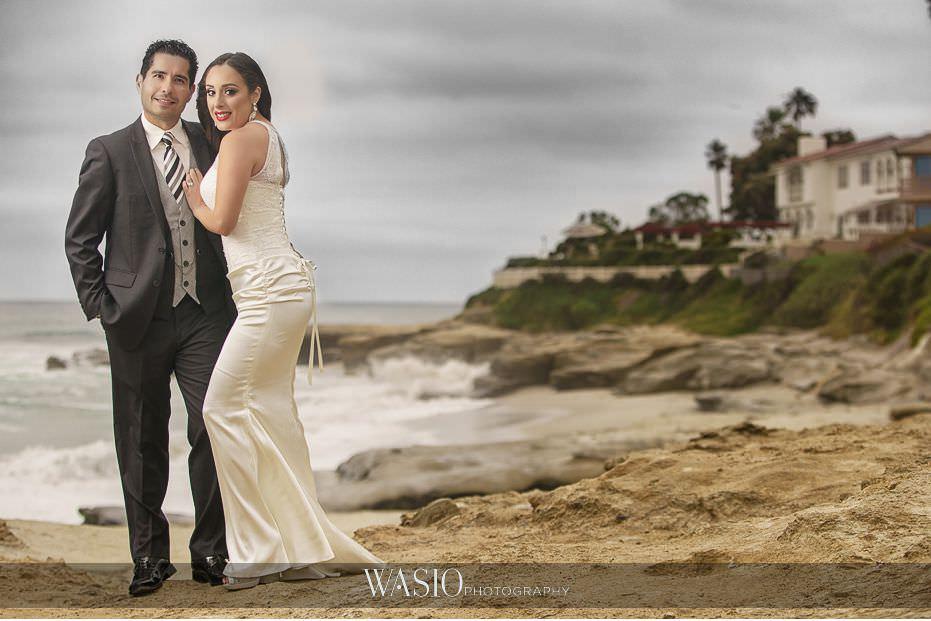 La-Jolla-and-Gaslamp-Quarter-Wedding-Photos-windandsea-beach-anniversary-celebration-39 La Jolla and Gaslamp Quarter Wedding Photos - Bell & Frankie