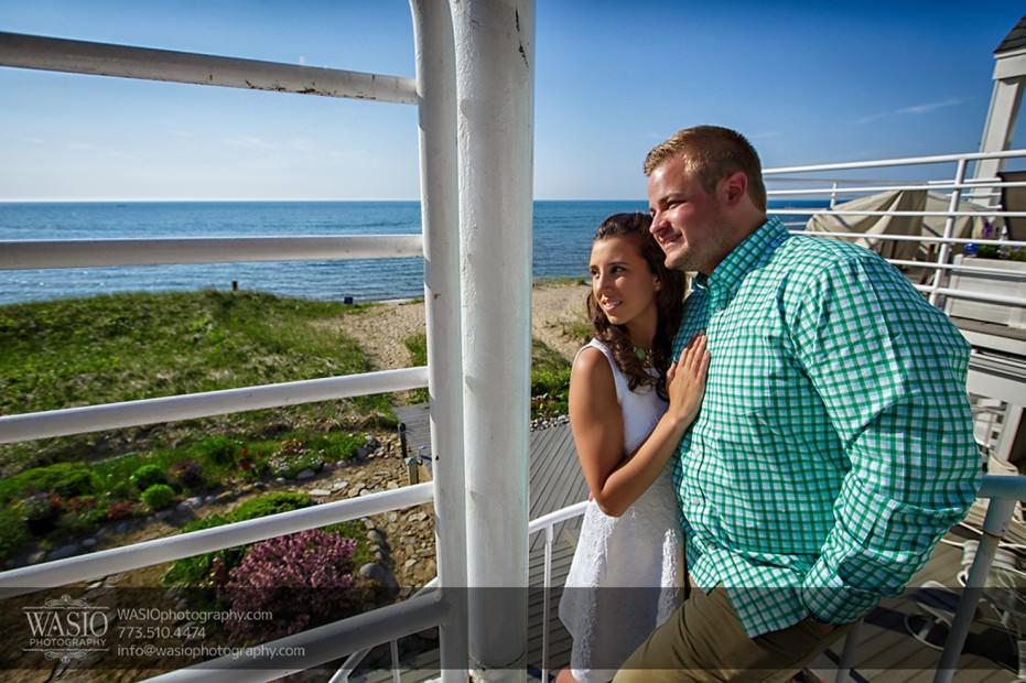Lake-Michigan-Engagement-beach-view-lake-sand-069-931x620 Lake Michigan Engagement - Carrie + John