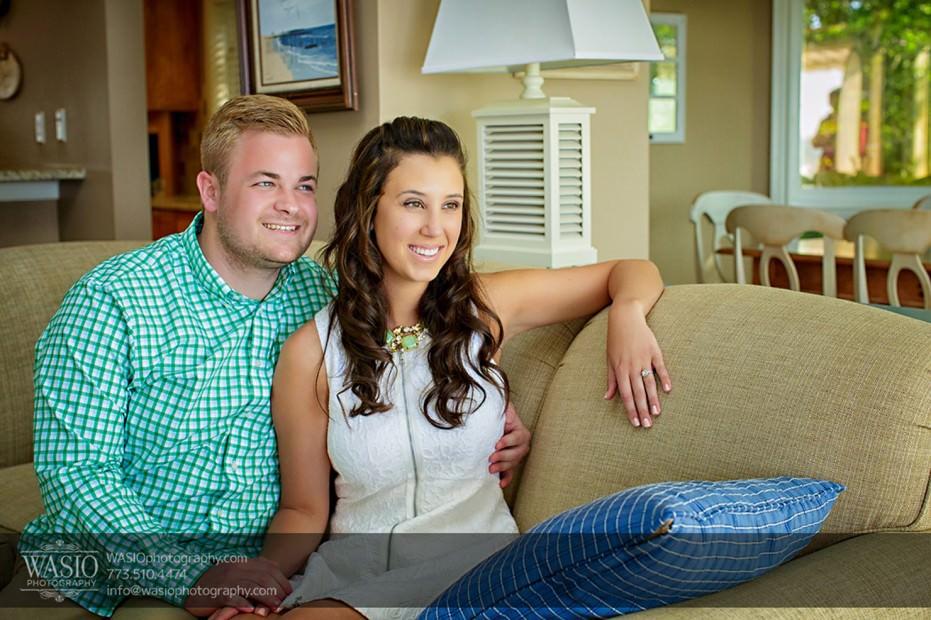 Lake-Michigan-Engagement-fun-lake-house-066-931x620 Lake Michigan Engagement - Carrie + John