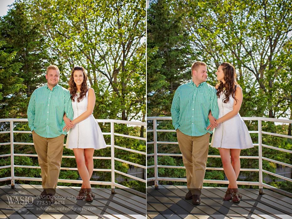Lake-Michigan-Engagement-nature-trees-spring-blooming-love-068-931x697 Lake Michigan Engagement - Carrie + John