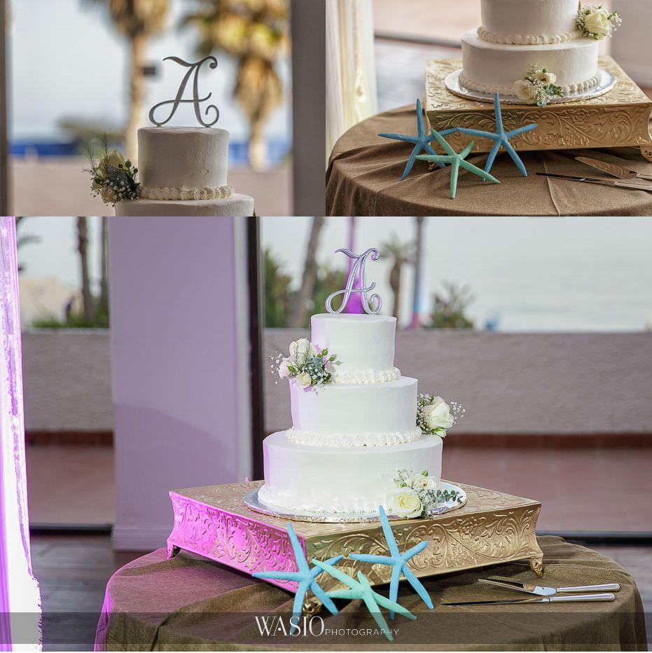 Las-Rocas-Resort-Rosarito-Wedding-beach-themed-wedding-cake-star-fish-destination-wedding-38-1 Las Rocas Resort Rosarito Wedding - Meaghan and Eric