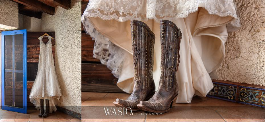 Las-Rocas-Resort-Rosarito-Wedding-white-classic-dress-cowgirl-boots-details-baja-California-15 Las Rocas Resort Rosarito Wedding - Meaghan and Eric
