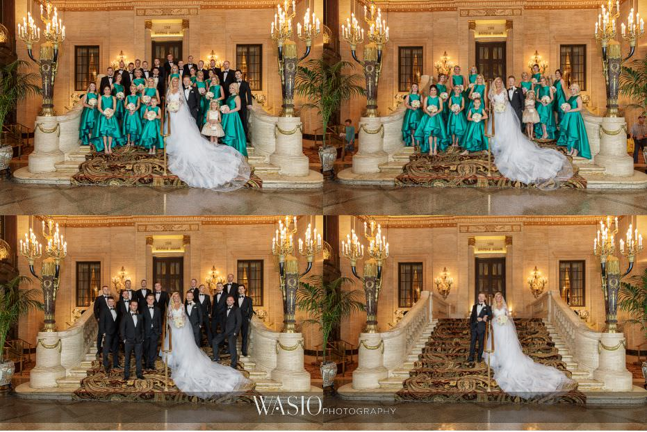 Lavish-wedding-by-Yanni-Design-Palmer-House-Hotel-Wedding-Party-Portraits-classic-photography-18 Lavish Wedding by Yanni Design - Maggie & Jerry