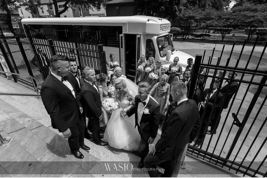 Lavish-wedding-by-Yanni-Design-black-white-photo-journalistic-capture-bride-groom-church-entrance-Holy-Trinity-20 Lavish Wedding by Yanni Design - Maggie & Jerry