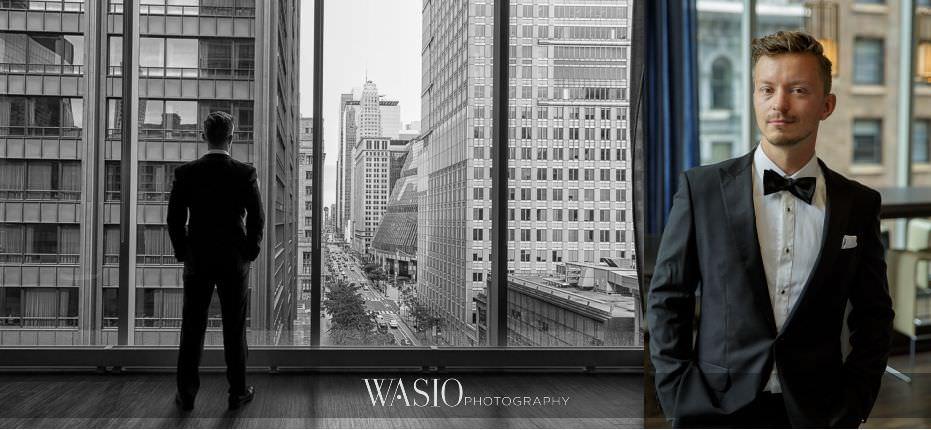 Lavish-wedding-by-Yanni-Design-black-white-portrait-handsome-groom-hugo-boss-black-bow-tie-06 Lavish Wedding by Yanni Design - Maggie & Jerry