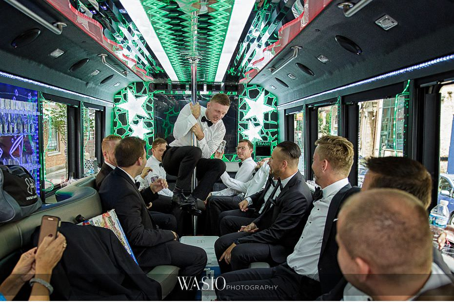 Lavish-wedding-by-Yanni-Design-fun-party-bus-dancing-13 Lavish Wedding by Yanni Design - Maggie & Jerry