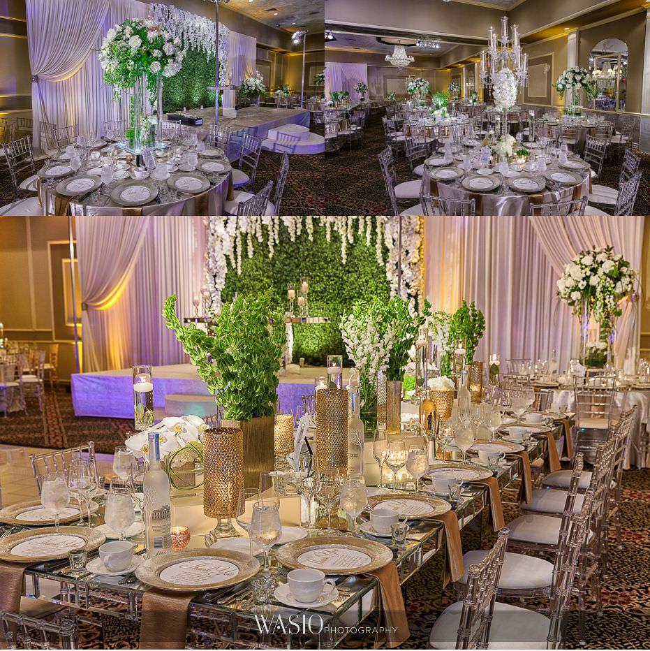 Lavish-wedding-by-Yanni-Design-gold-reception-decor-fresh-florals-high-end-decoration-43 Lavish Wedding by Yanni Design - Maggie & Jerry