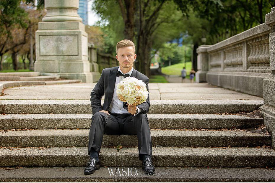 Lavish-wedding-by-Yanni-Design-groom-bouqet-portrait-classic-37 Lavish Wedding by Yanni Design - Maggie & Jerry