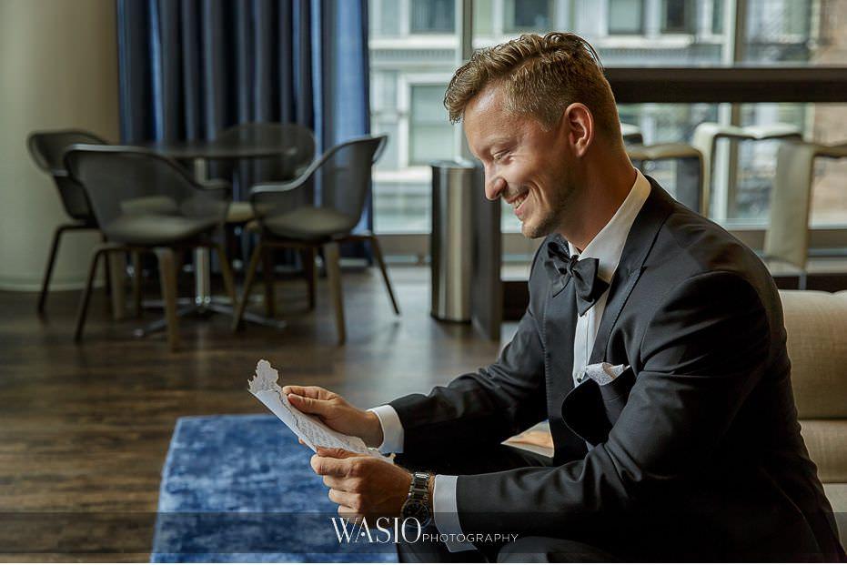 Lavish-wedding-by-Yanni-Design-groom-preparation-love-letter-reaction-05 Lavish Wedding by Yanni Design - Maggie & Jerry