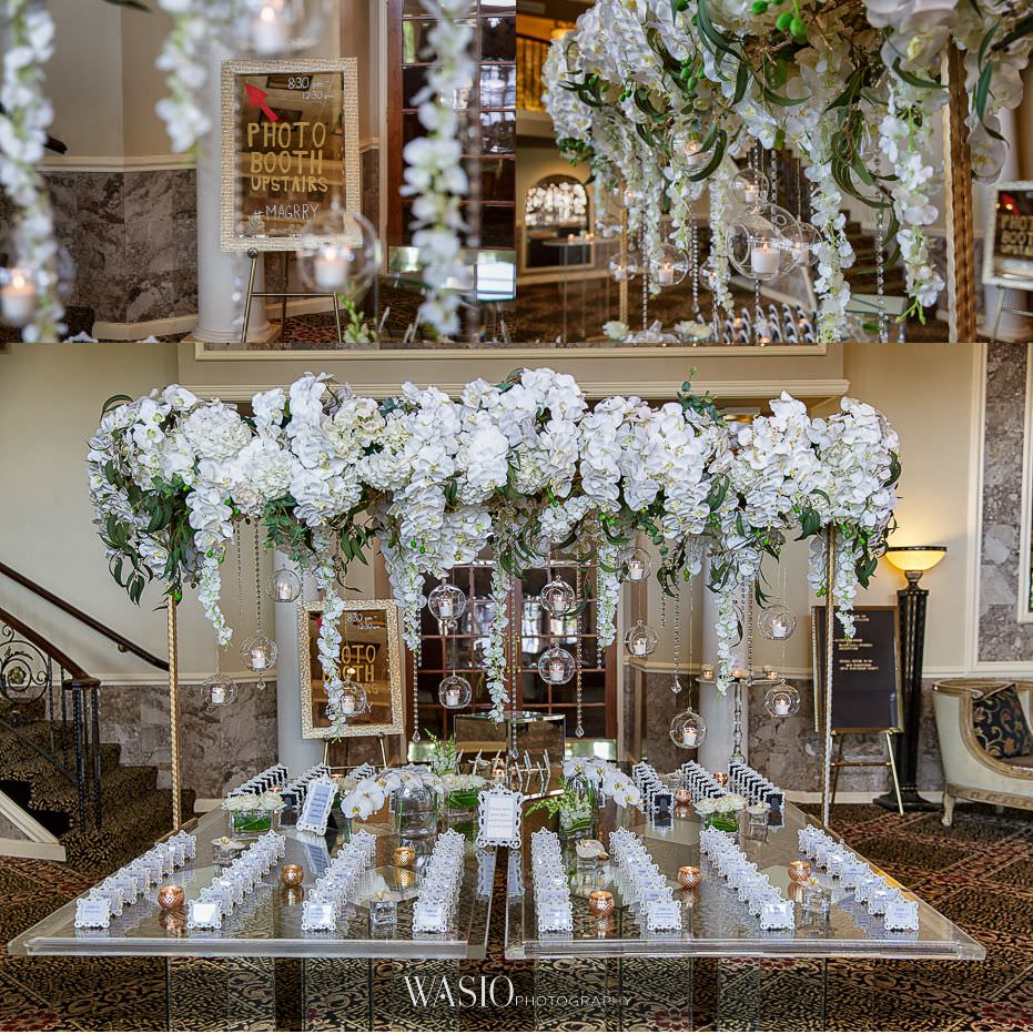 Lavish-wedding-by-Yanni-Design-place-card-table-orchid-flowers-grand-high-end-decoration-41 Lavish Wedding by Yanni Design - Maggie & Jerry