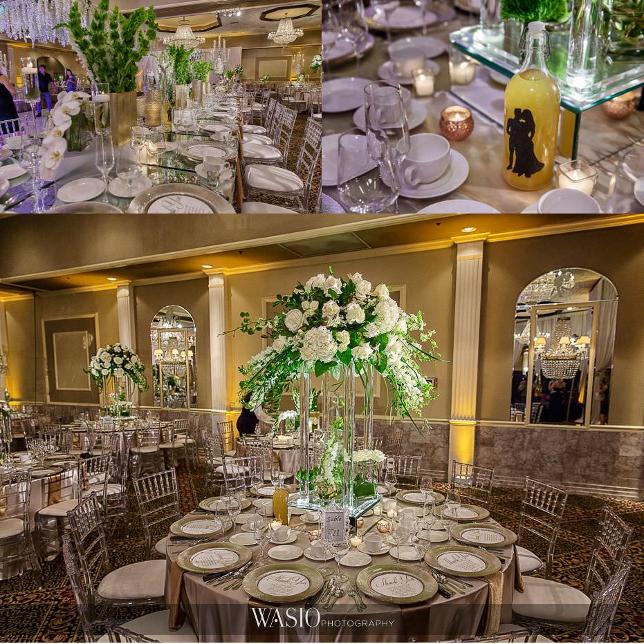 Lavish-wedding-by-Yanni-Design-reception-decor-custom-flowers-gold-charger-plates-grand-floral-center-pieces-mirror-tables-42 Lavish Wedding by Yanni Design - Maggie & Jerry