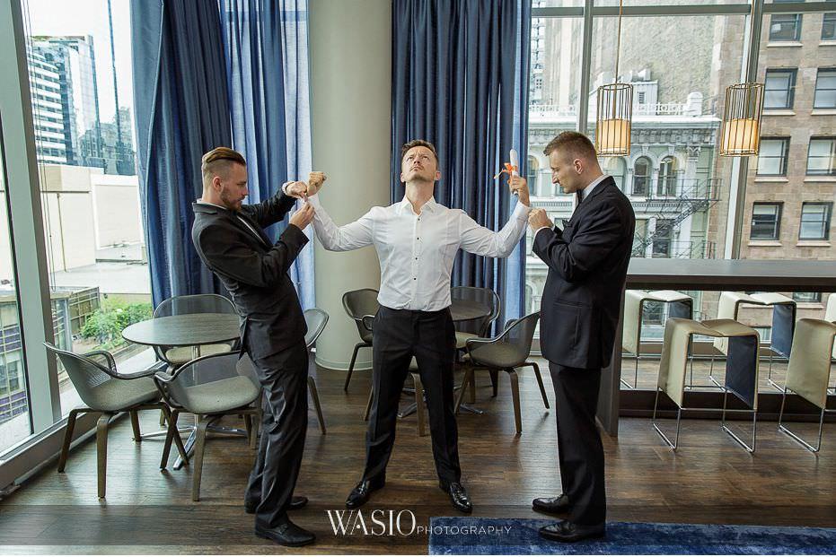 Lavish-wedding-by-yanni-design-studio-groom-best-men-fun-1 Lavish Wedding by Yanni Design - Maggie & Jerry