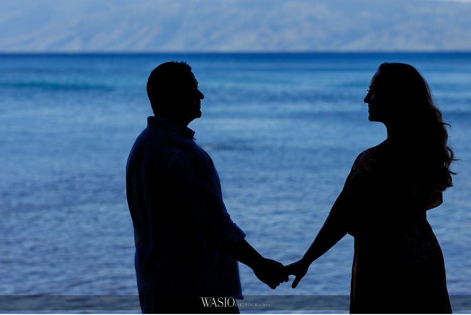 Maui-engagement-session-romantic-waterfront-silhouette-photograph-Hawaii-Honolua-Bay-18 Romantic Maui Engagement Session - Kristen and Frank