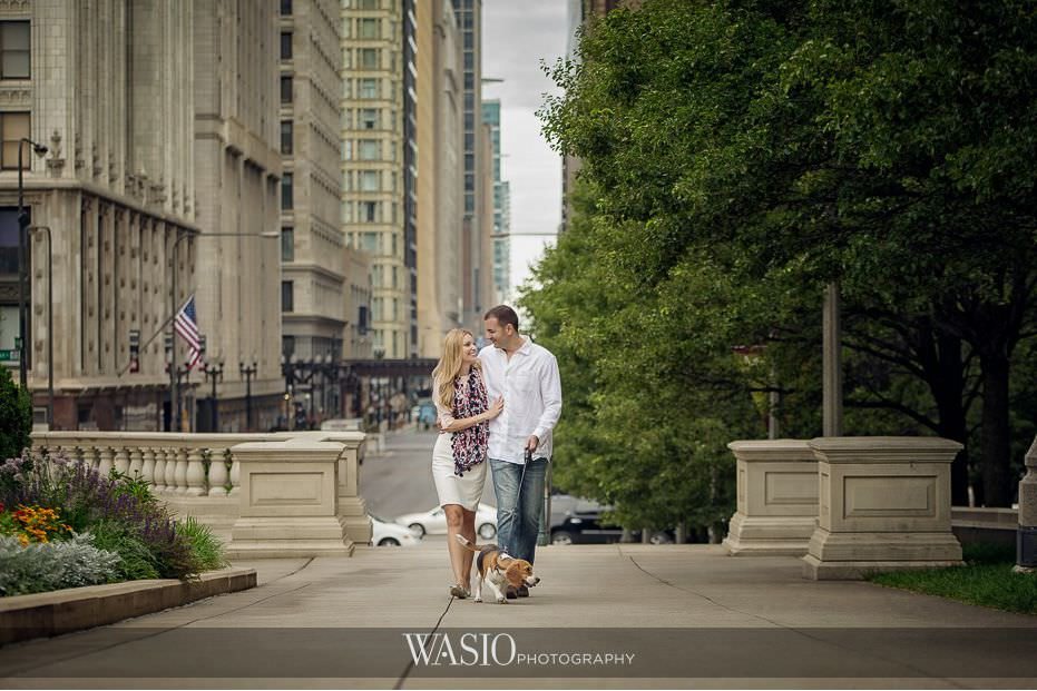 Millennium Park Engagement Photos – Emilia & Mladen