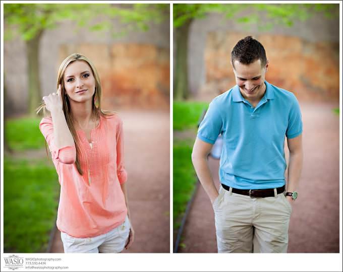 Modern-Style-Chicago-Wedding-Engagement-Photographer-680x540 Art Institute Gardens Engagement - Natalia & Michal