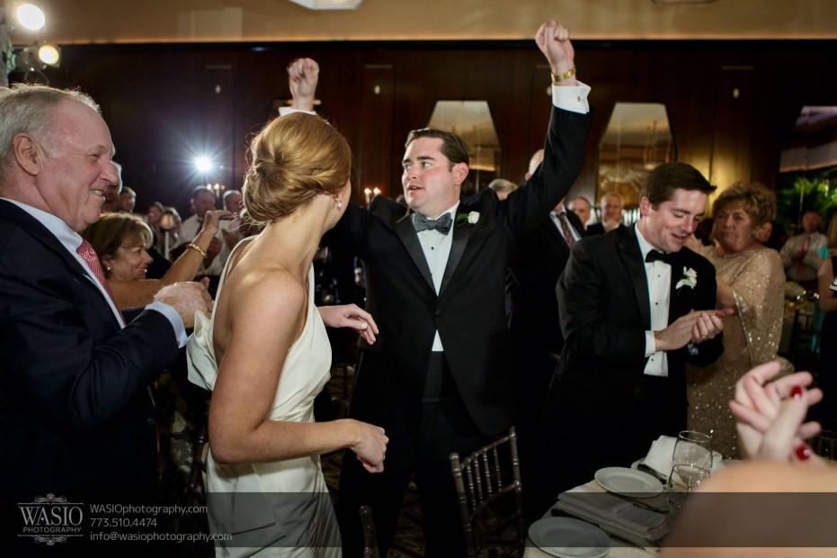 Montgomery-club-chicago-wedding-bride-groom-introduction-epic-030-931x620 Montgomery Club Chicago Wedding - Lauren + Teddy