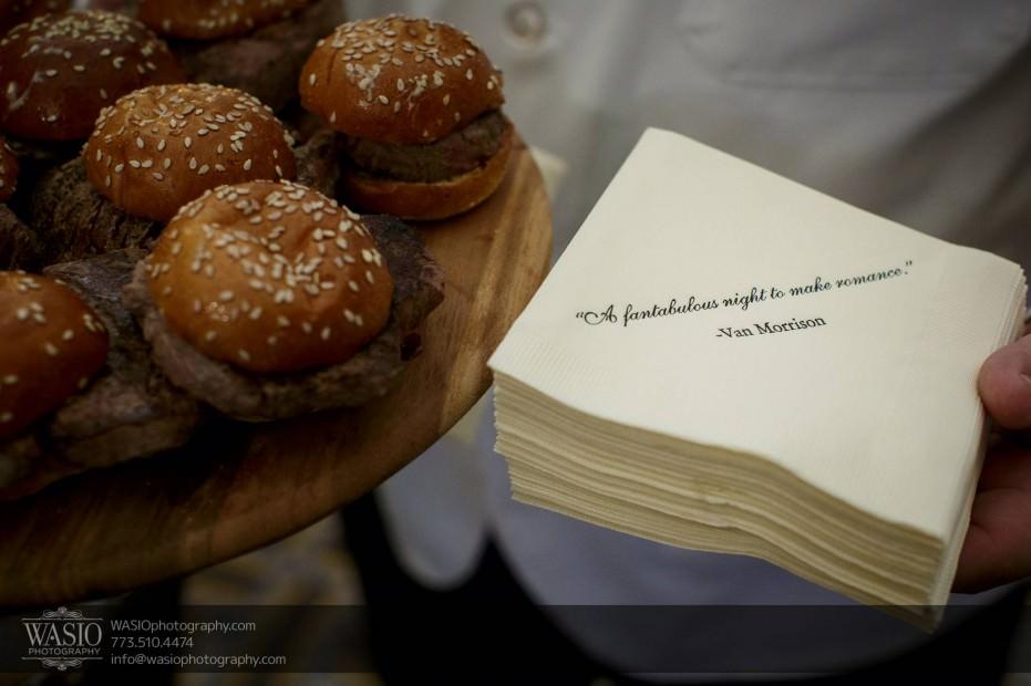 Montgomery-club-chicago-wedding-cocktail-napkins-quotes-van-morrison-027-931x620 Montgomery Club Chicago Wedding - Lauren + Teddy