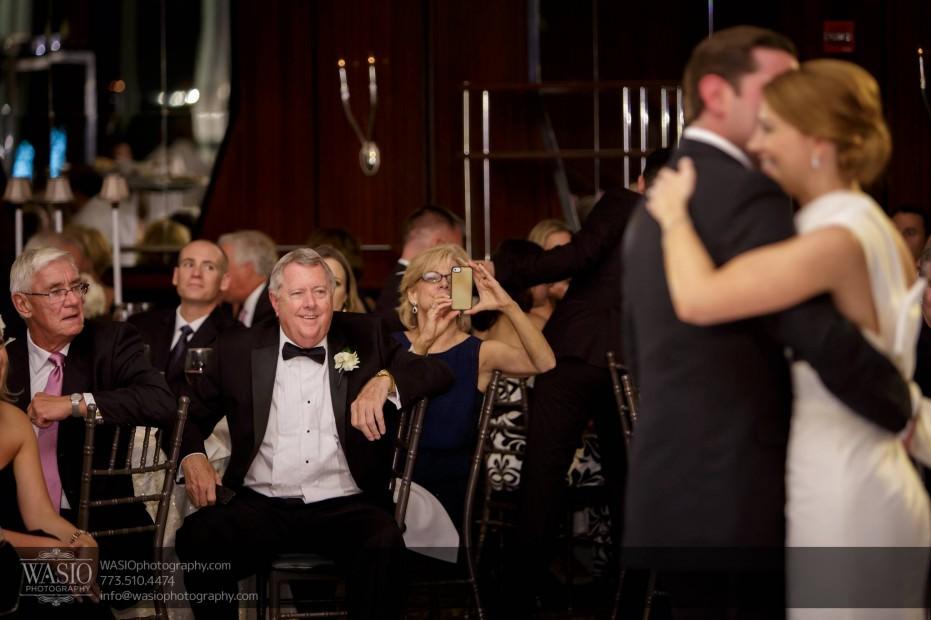 Montgomery-club-chicago-wedding-first-dance-happy-father-of-bride-032-931x620 Montgomery Club Chicago Wedding - Lauren + Teddy