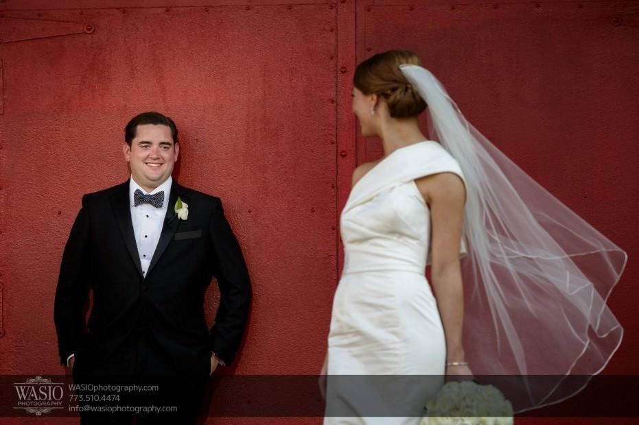 Montgomery-club-chicago-wedding-flirt-happy-groom-019-931x620 Montgomery Club Chicago Wedding - Lauren + Teddy