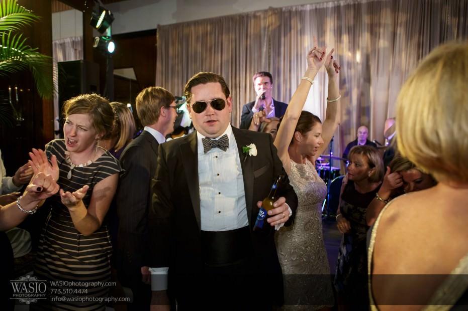 Montgomery-club-chicago-wedding-reception-groom-dance-party-036-931x620 Montgomery Club Chicago Wedding - Lauren + Teddy
