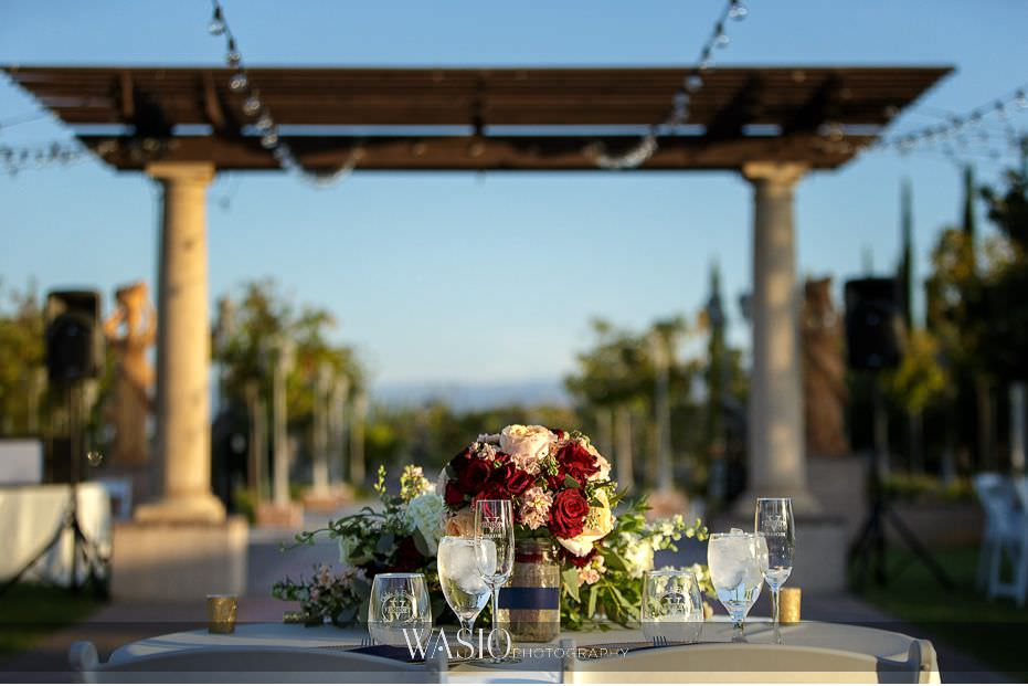 Mount-Palomar-Winery-Wedding-bride-groom-head-table-views-fresh-flowers-90 Mount Palomar Winery Wedding - Chelsea & Brandon