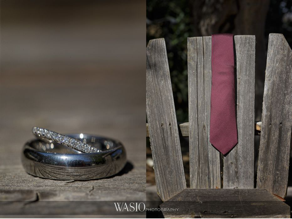 Mount-Palomar-Winery-Wedding-diamond-engagement-wedding-band-rings-silver-grooms-tie-michael-kors-burgundy-53 Mount Palomar Winery Wedding - Chelsea & Brandon