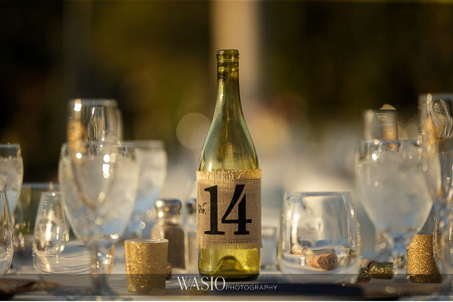 Mount-Palomar-Winery-Wedding-table-numbers-burlap-wine-bottles-outdoor-reception-decoration-85 Mount Palomar Winery Wedding - Chelsea & Brandon