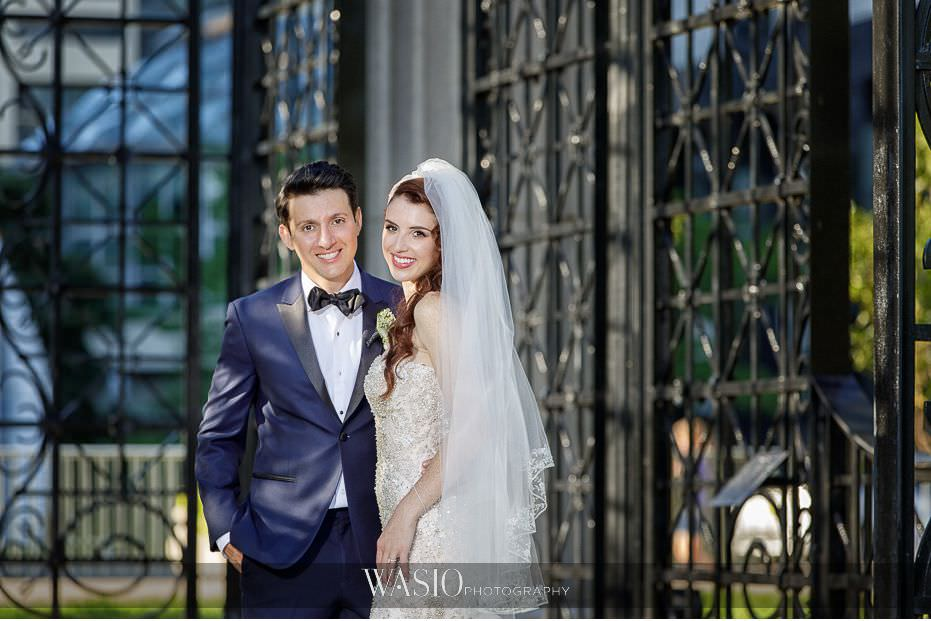 Museum-of-broadcast-communications-wedding-perfect-bride-groom-portrait-outdoor-summer-49 Museum of Broadcast Communications Wedding - Alyssa & Salvatore