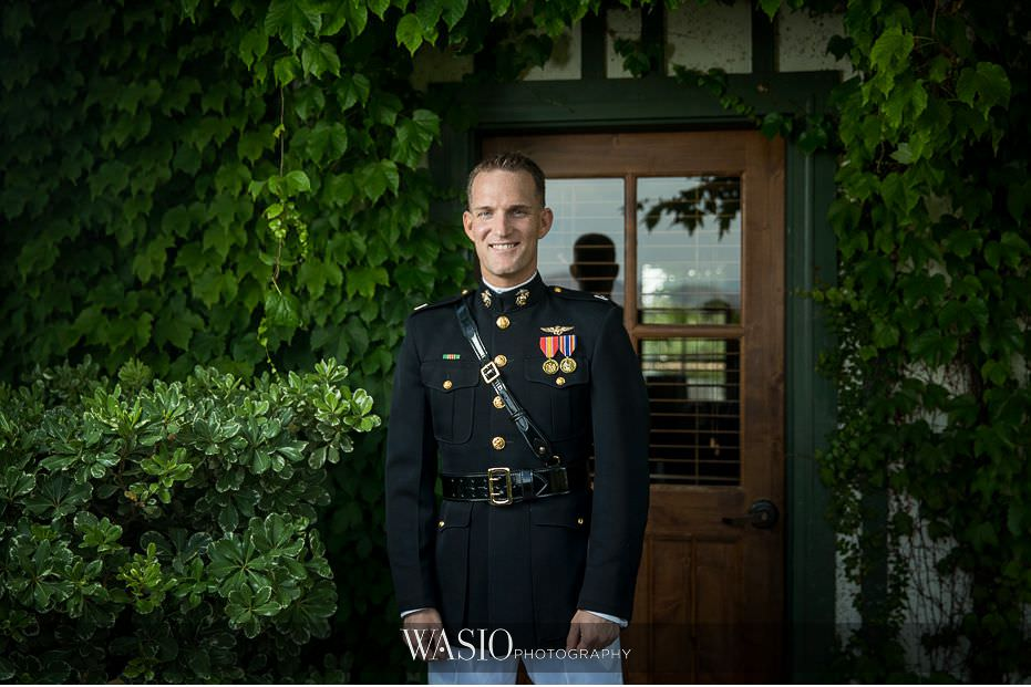 Ponte-Winery-Temecula-Wedding-Military-groom-portrait-61 Ponte Winery Temecula Wedding  - Erin and Scott