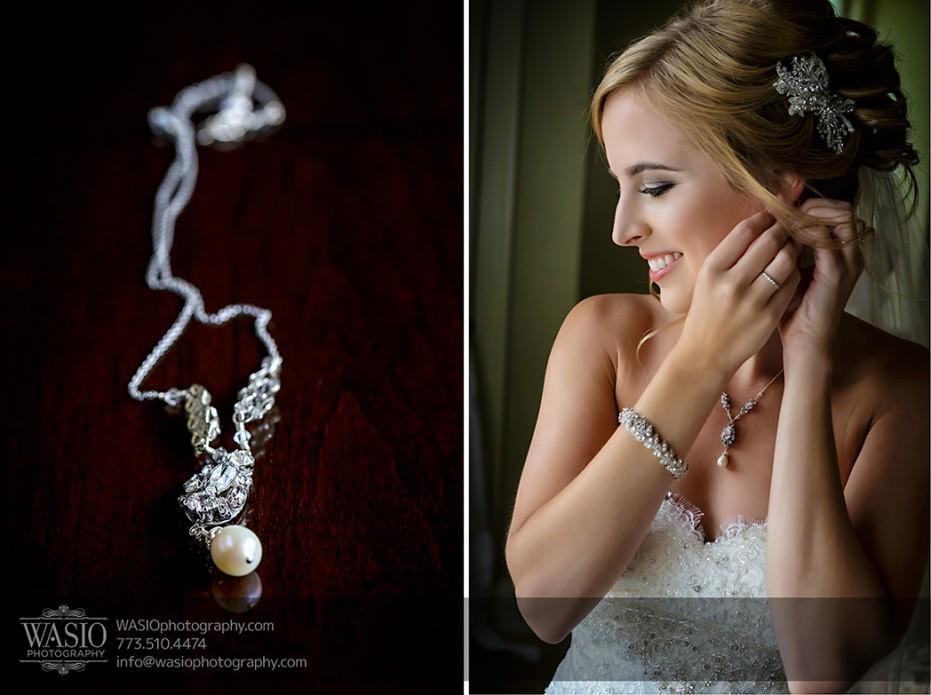 Rolling-Green-Country-Club-Wedding-008-bride-putting-earrings-pearl-necklace-931x695 Rolling Green Country Club Wedding - Lauren & Nick