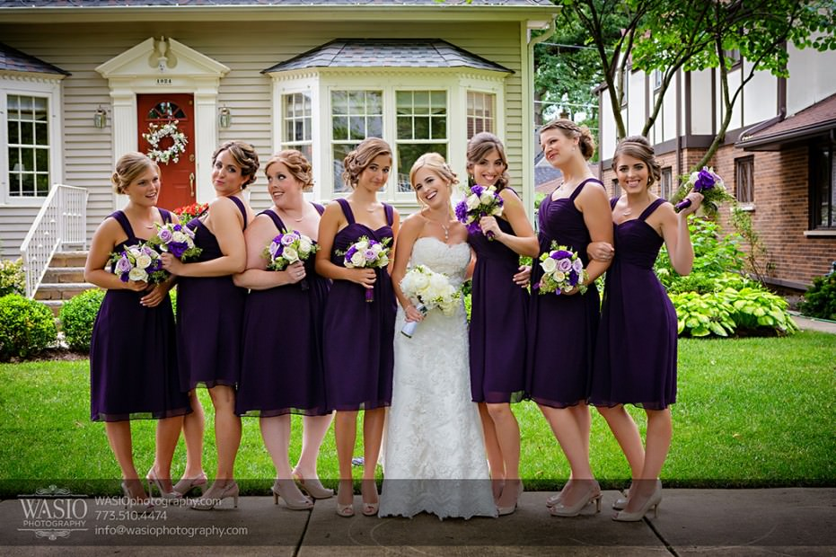 Rolling-Green-Country-Club-Wedding-016-bridemaids-portrait-Park-Ridge-931x620 Rolling Green Country Club Wedding - Lauren & Nick