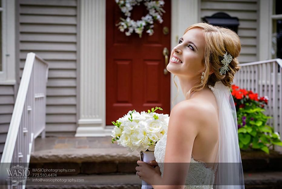 Rolling-Green-Country-Club-Wedding-018-beautiful-bride-portrait-Park-Ridge-931x625 Rolling Green Country Club Wedding - Lauren & Nick