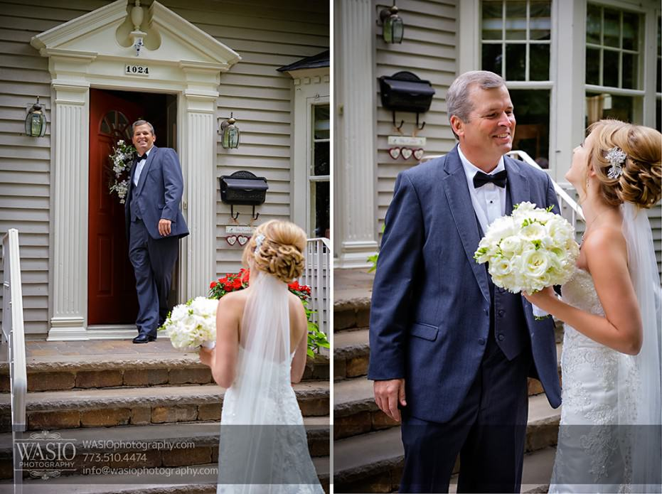 Rolling-Green-Country-Club-Wedding-019-father-seeing-bride-emotions-931x695 Rolling Green Country Club Wedding - Lauren & Nick