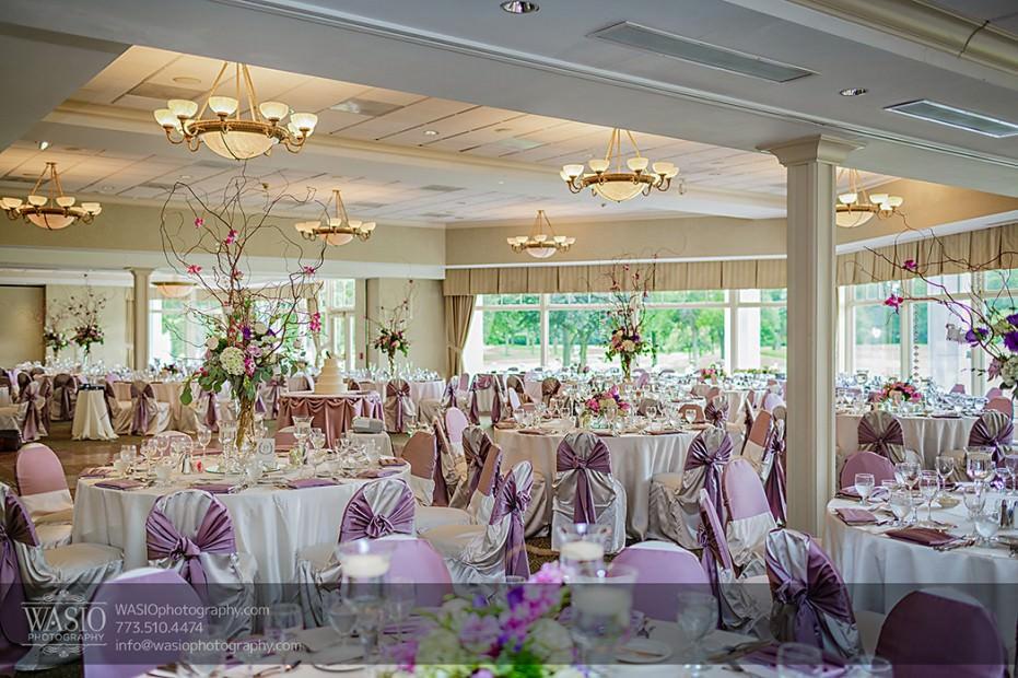 Rolling-Green-Country-Club-Wedding-057-01-pink-purple-reception-decoration-931x620 Rolling Green Country Club Wedding - Lauren & Nick