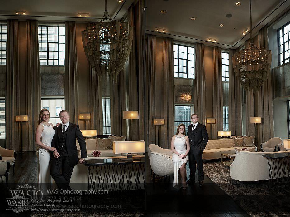 Sunrise-Chicago-Engagement-Ritz-residences-classy-elegant-long-white-dress-fancy-075 Sunrise Chicago Engagement - Nathalie + Nick