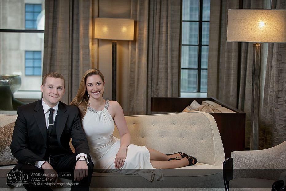 Sunrise-Chicago-Engagement-classy-elegant-white-couch-cuddling-086 Sunrise Chicago Engagement - Nathalie + Nick