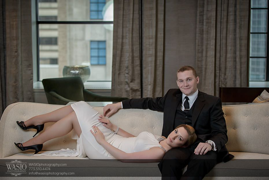 Sunrise Chicago Engagement – Nathalie + Nick