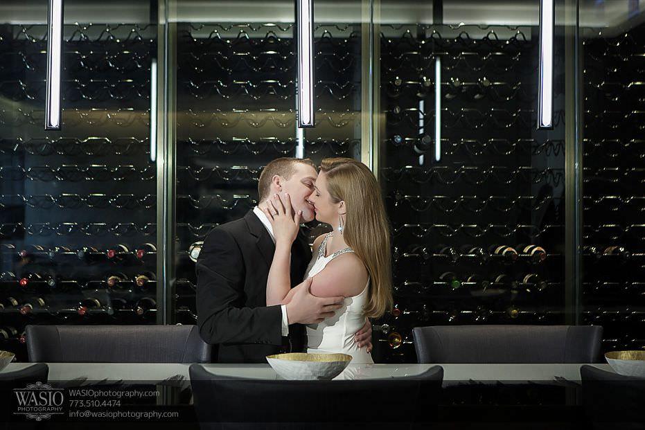 Sunrise-Chicago-Engagement-wine-cellar-089 Sunrise Chicago Engagement - Nathalie + Nick