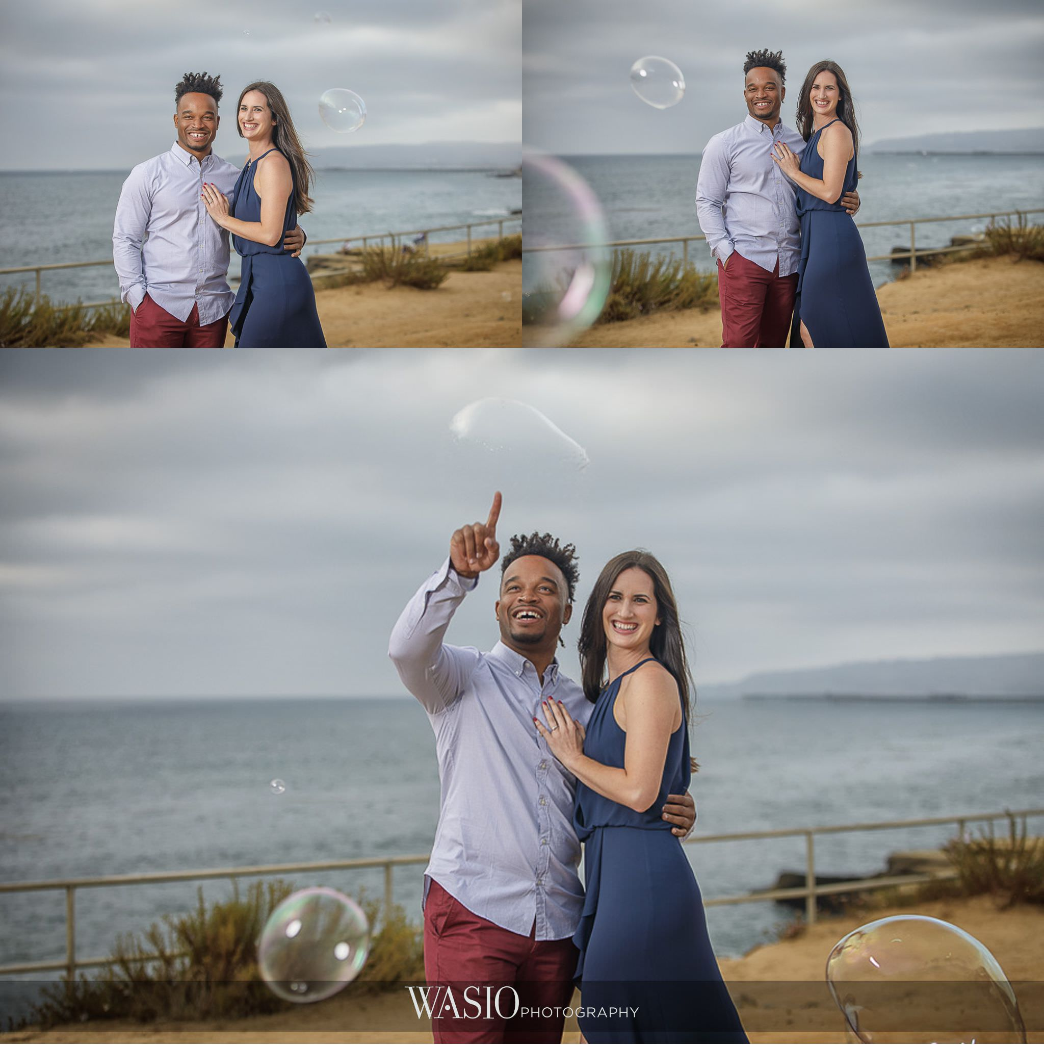 Sunset-Cliffs-San-Diego-Engagement-bubbles-photojournalism-fun-moment-58 Sunset Cliffs San Diego Engagement - Laura and La Broi