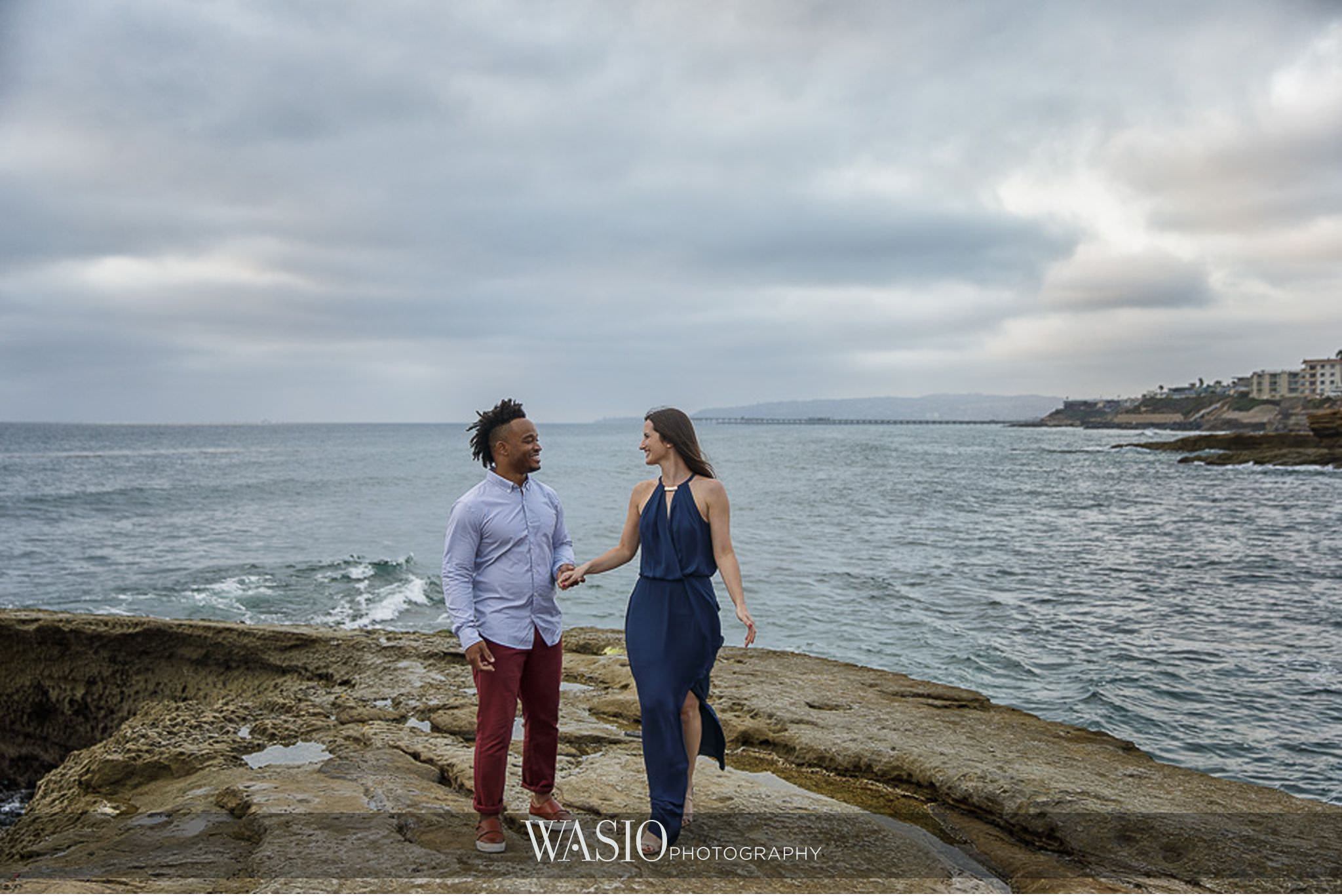 Sunset-Cliffs-San-Diego-Engagement-romantic-hand-holding-ocean-love-fun-outdoor-photo-67 Sunset Cliffs San Diego Engagement - Laura and La Broi